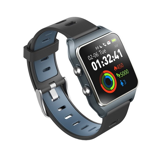Makibes BR3 Smart Watch Support Strava 1.3 Inch IPS Color Touchscreen Built-in GPS