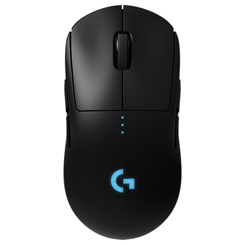Logitech G PRO Wireless Dual-mode Gaming Mouse RGB Program 16000 DPI - Black