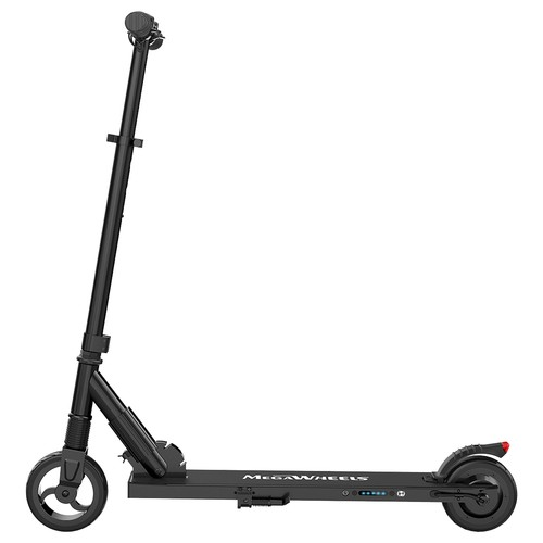 Megawheels S1-5 Portable Folding Electric Scooter 250W Motor 23km/h Micro-Electronic Braking System - Black