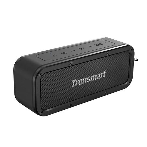 Tronsmart Force SoundPulse™ 40W Bluetooth 5.0 Speaker IPX7 Water Resistant Siri TWS & NFC 15 Hours Playtime