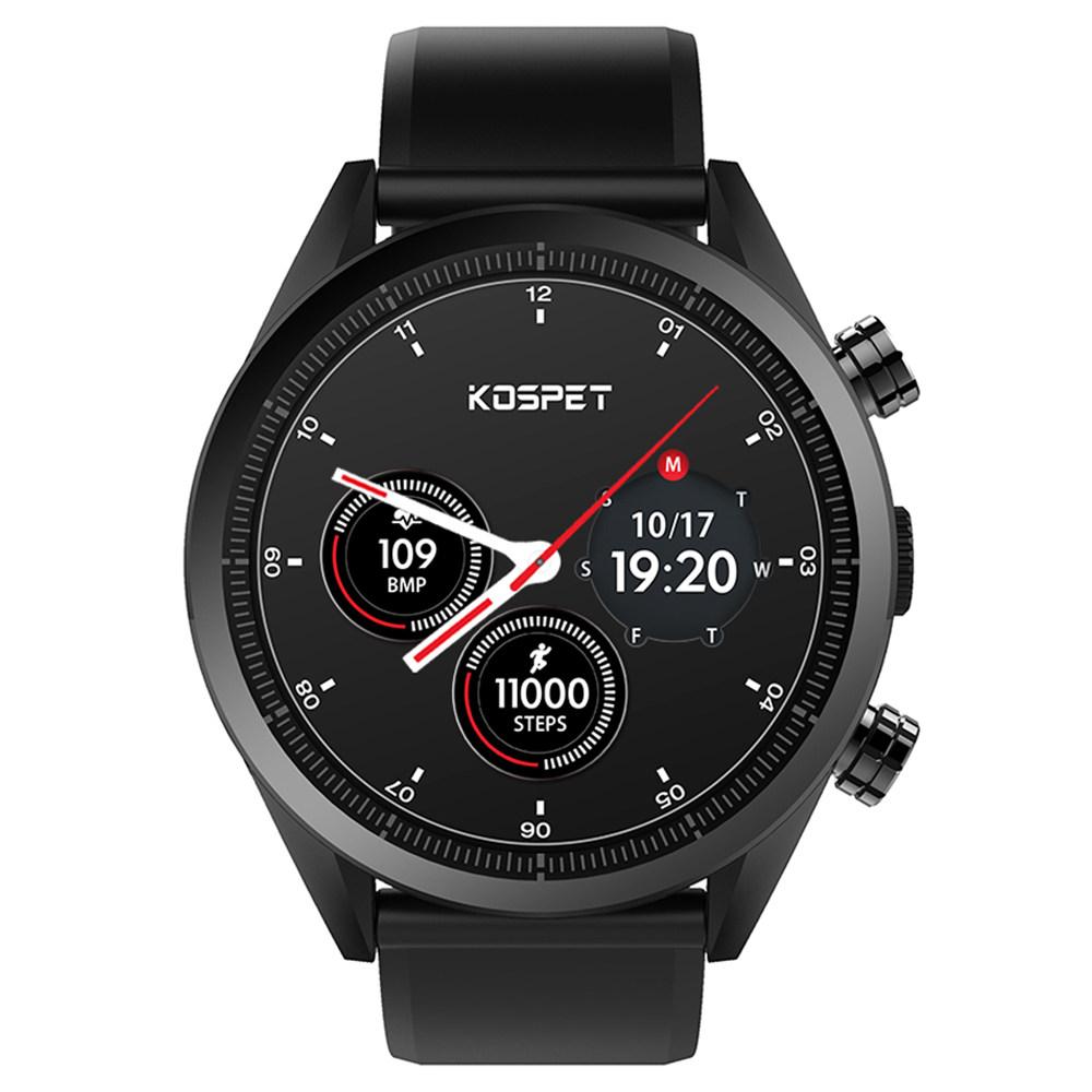 Kospet Hope 4G Smartwatch Phone Ceramic Bezel Android 7.1