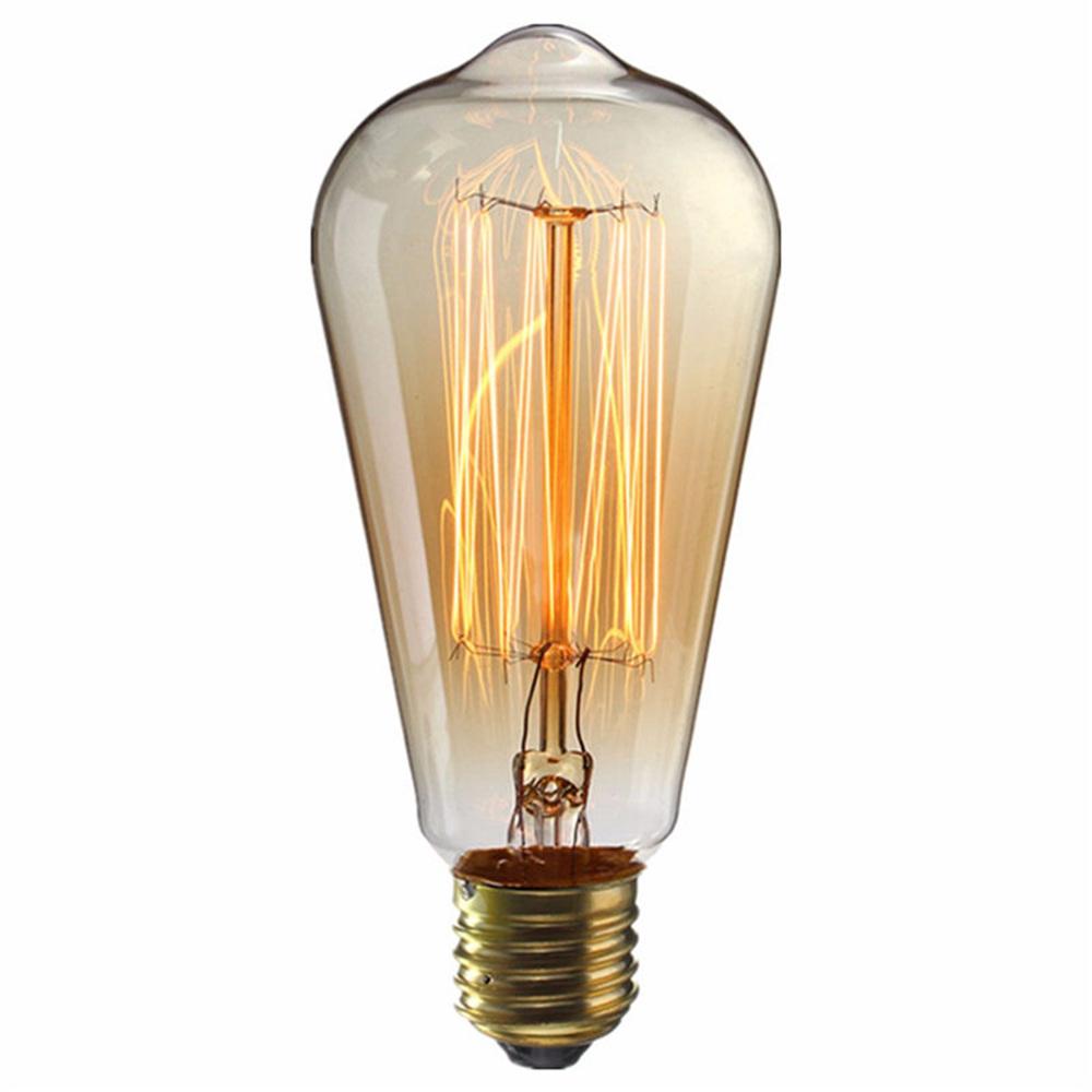 E27 ST64 2700K Edison Bulb 5x