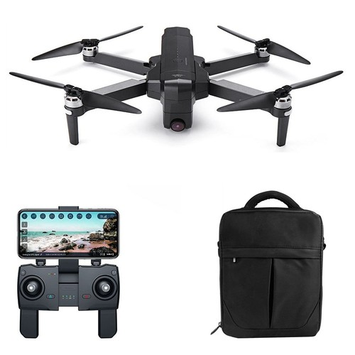 SJRC F11 PRO 2.7K GPS 5G WIFI FPV Foldable RC Drone With Adjustable Camera 28mins Flight Time RTF - One Battery With Bag