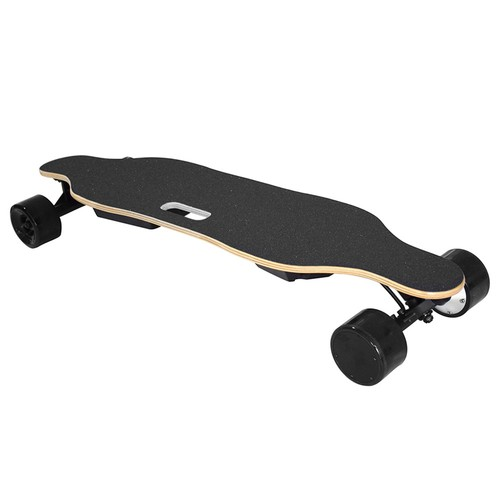 SYL-06 Electric Skateboard Dual 600W Motors 4400mAh Battery Max Speed 35km/h With Remote Control - Black