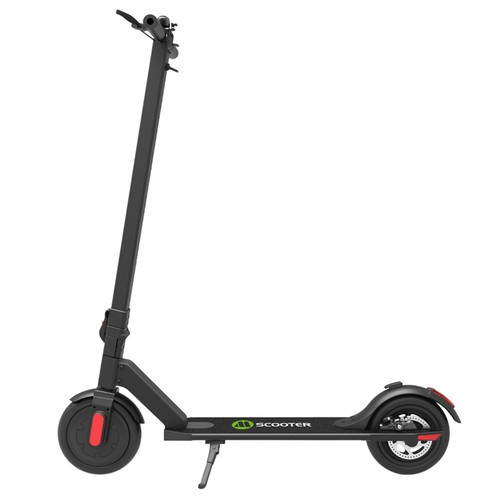 Megawheels S5-1 Portable Folding Electric Scooter 250W Motor 5.8Ah LG Battery 8.5 Inch Tire - Black