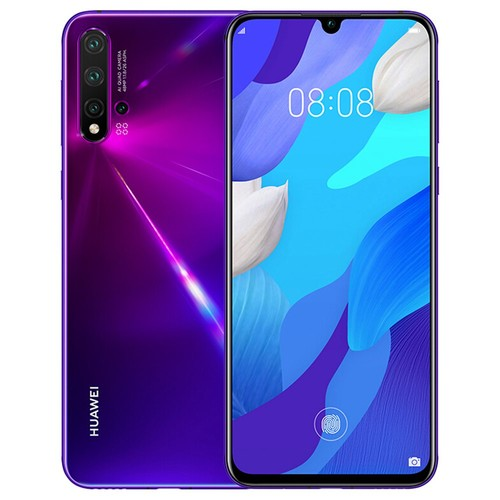 HUAWEI Nova 5 Pro 6.39 Inch 4G LTE Smartphone Kirin 980 8GB 256GB 48.0MP+16.0MP+2.0MP+2.0MP Quad Rear Cameras Android 9.0 In-display Fingerprint Fast Charge - Purple