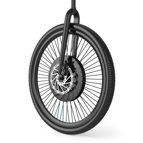 iMortor 26 inch Permanent Magnet DC Motor Intelligence Bicycle Wheel with App Control Adjustable Speed Mode for Mountain Bike Road Bike - EU Plug