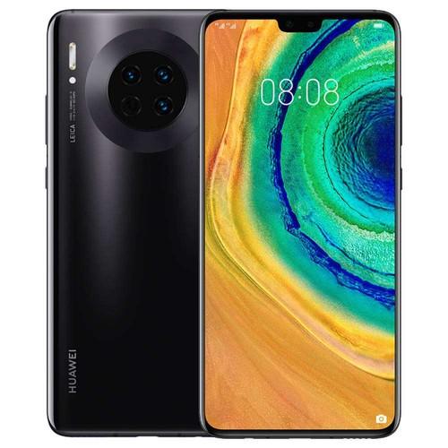 HUAWEI Mate 30 6.62 Inch 4G LTE Smartphone Kirin 990 8GB 128GB 40.0MP+16.0MP+8.0MP Triple Leica Rear Cameras NFC Fingerprint ID Dual SIM Android 10.0 - Black