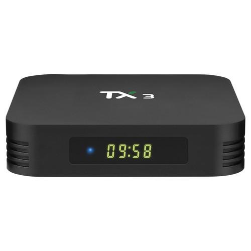 TANIX TX3 ALICE UX Amlogic S905x3 8K Video Decode Android 9.0 TV Box 2GB/16GB WiFi LAN USB3.0 Youtube Netflix Google Play