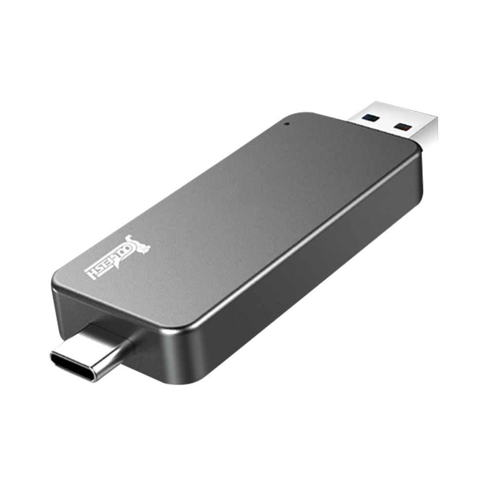 Coolfish GO NGFF 128GB SSD Multifunctional Dual-purpose External Solid State Drive
