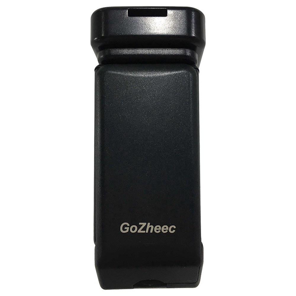 GoZheec S3 360 Degree Rotating Cell Phone Clip Holder Stand - Black
