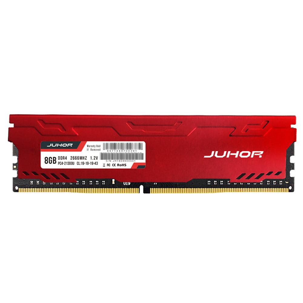Juhor DDR4 8GB 2666Mhz 1.2V 288 Pin RAM Desktop Memory Module