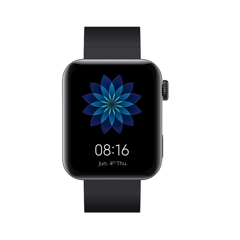 Xiaomi Mi Watch 4G LTE 1.78 Inch AMOLED 2.5D Glass Screen Heart Rate Monitor Waterproof Built-in GPS - Black