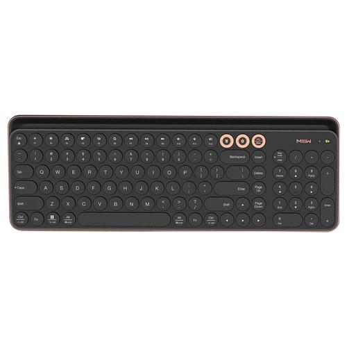 Xiaomi MIIIW MWBK01 Wireless Bluetooth / 2.4G Dual-mode Keyboard Multi-System Compatible - Black