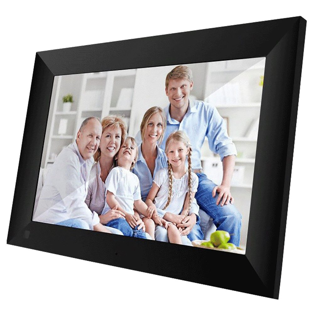 Scishion P100 10.1 Inch Wi-Fi Cloud Digital Photo Frame 1280 x 800 IPS Touch Screen 16:9 Aspect Ratio