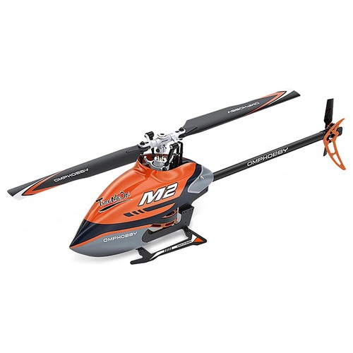 OMPHOBBY M2 400mm Dual Brushless Motor Direct Drive Violent 3D Flight RC Helicopter