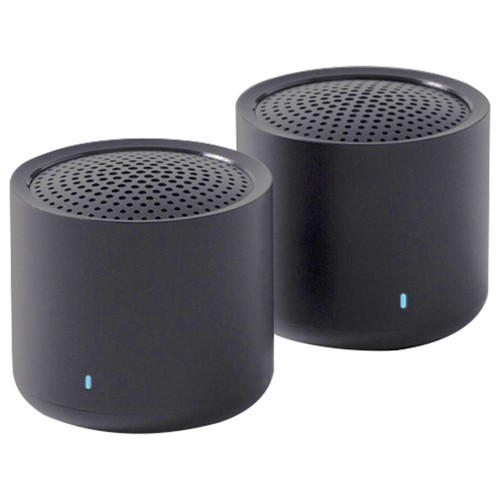 Xiaomi 3W Bluetooth 5.0 True Wireless Stereo Speakers IPX7 Built-in Mic 7 Hours Playtime - Black