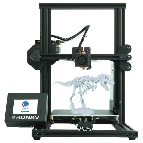 TRONXY XY-2 3.5'' Touch Screen 3D Printer 220*220*260mm Automatic Alignment Continuous Printing USB - Black