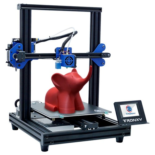 TRONXY XY-2 Pro 3D Printer 255 x 255mm x 260mm 3.5'' Touch Screen Fast Assembly Resume Printing for Beginner and Home User