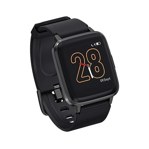 Haylou LS01 Smartwatch 1.3 Inch TFT Touch Screen IP68 Waterproof Heart Rate Sleep Monitor - Black
