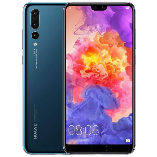 HUAWEI P20 Pro 6.1 Inch Smartphone FHD+ Screen Kirin 970 6GB 256GB 20.0MP+40.0MP+8.0MP Three Rear Cameras Android 8.1 - Jewelry Blue
