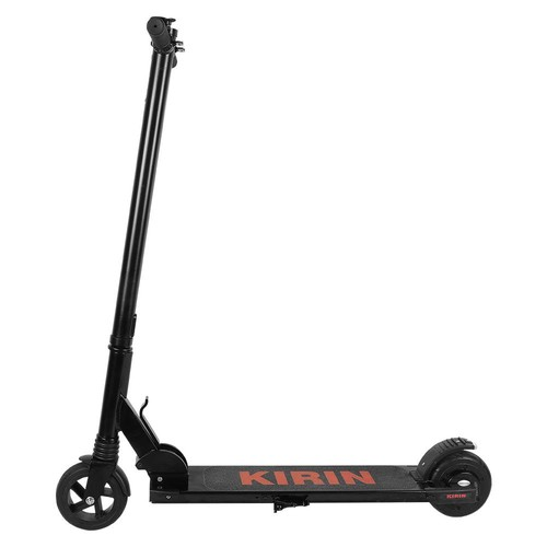 KUGOO KIRIN S2 Mini Folding Electric Scooter Christmas Gift 150W Motor LCD Display Screen Max 25KM/H 5.5 Inch Tire - Black