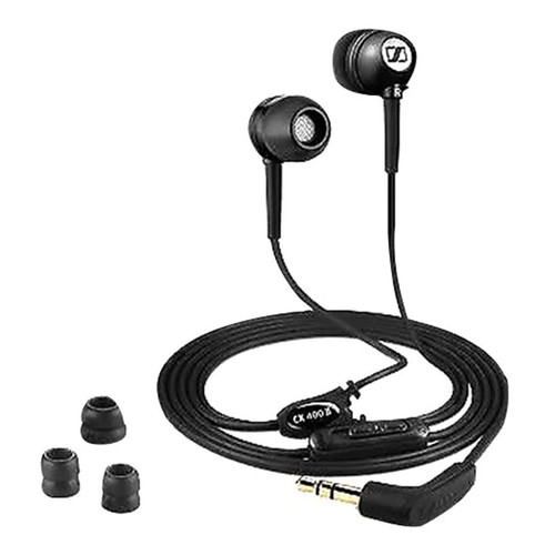 Sennheiser CX 400-II Precision In-ear Canal Earphones Bass-Driven Stereo Sound - Black