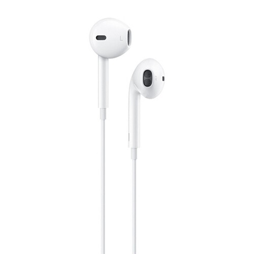 Apple EarPods with Llightning Connector for iPhone 5/5S/5C/6S/6S Plus/7/7 Plus/8/8 Plus/X/XS/XS Max/11/11 Pro/Pro Max - White