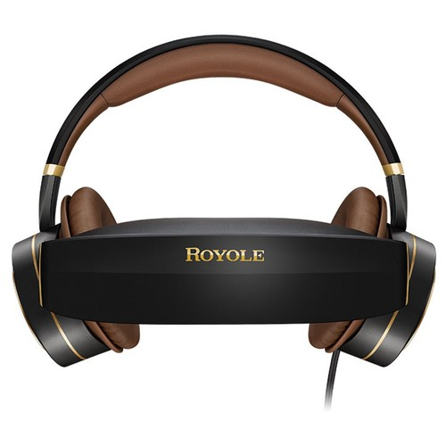 ROYOLE MOON All-in-one 32GB HIFI Headset 3D VR Glasses Moon OS Dual 1080P Display Active Noise Cancelling Touch Control Cinema Wi-Fi Bluetooth HDMI - Black