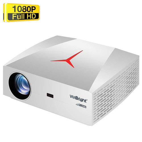 VIVIBRIGHT F40UP Native 1080P Android LED Projector 4200 Lumens 300