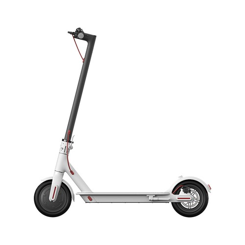 Mi Electric Scooter 1S Folding Electric Scooter 8.5 Inch Tire 250W Brushless Motor Up To 30km Range Max speed 25km/h Smart Display Dual Brake CN Version - White