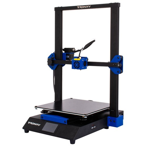 Tronxy XY-3 Pro 3D Printer Ultra Silent Mainboard Titan Extruder Fast Assembly Auto Leveling  Resume Printing 3D kits 300x300x400mm Compatible with  PLA ABS PETG WOOD TPU.