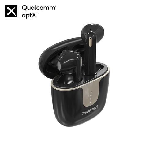 Tronsmart Onyx Ace Bluetooth 5.0 TWS Earphones 4 Microphones Qualcomm QCC3020 Independent Usage aptX/AAC/SBC 24H Playtime Siri Google Assistant IPX5 - Black