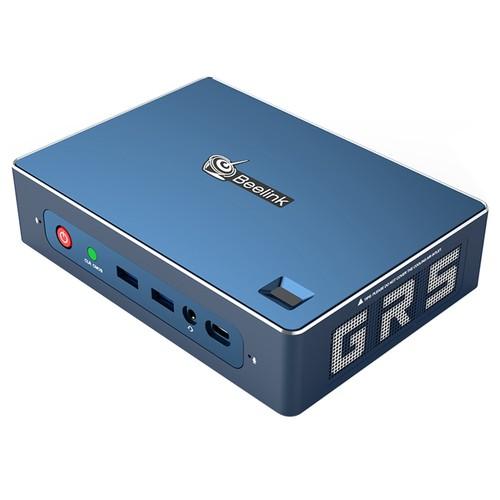 Beelink GT-R Barebone MINI PC AMD Ryzen5 3550H Quad Core Radeon Vega 8 Graphics HDMI*2 DP RJ45*2 Type-C