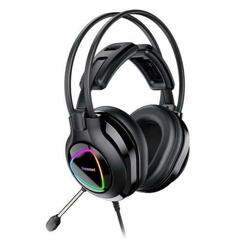 Tronsmart Glary Alpha Colorful LED Gaming Headset with  Lighting 3.5mm+USB Port