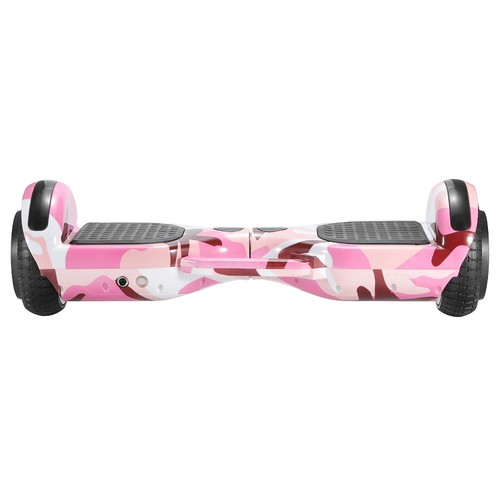 Imina 6.5 inch Self Balancing Scooter Hoverboard 500W with Bluetooth Speaker and StripLight - Pink