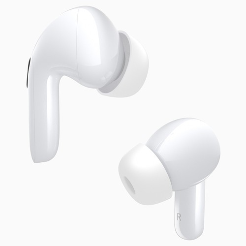 Elephone Elepods X ANC TWS Earbuds Bluetooth 5.0 Active Noise Canceling with Mic HD Call IPX5 Water Reistant - White