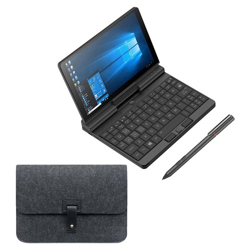 One Netbook A1 360 Degree 2 in 1 Pocket Laptop Intel M3-8100Y 8GB RAM 256GB PCIe SSD + Original Stylus Pen + Protective Case