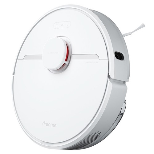 Dreame D9 Smart Robot Vacuum Cleaner Sweep and Mop 2-in-1 3000Pa Strong Suction LDS Laser Navigation 150 Minutes Running Time 270ml Electric Water Tank SLAM Smart Planning APP Control for Pet Hair, Carpet, Hard Floor EU Version - White