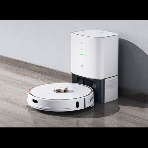Xiaomi VIOMI S9 Robot Vacuum Cleaner with Intelligent Dust Collector Integrated Sweeping and Mopping 2700Pa Powerful Suction LDS Laser Navigation 220 Mins Running Time 250ml Electric Water Tank Mijia APP Control for Pets Hair, Carpets and Hard Floor