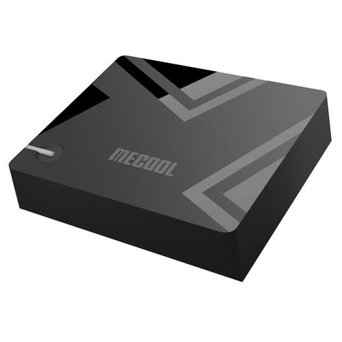 Mecool K5 DVB-T2/S2/C 2GB/16GB Android 9.0 TV Box Amlogic S905X3 EPG PVR Recording CCcam Newcam Biss Key