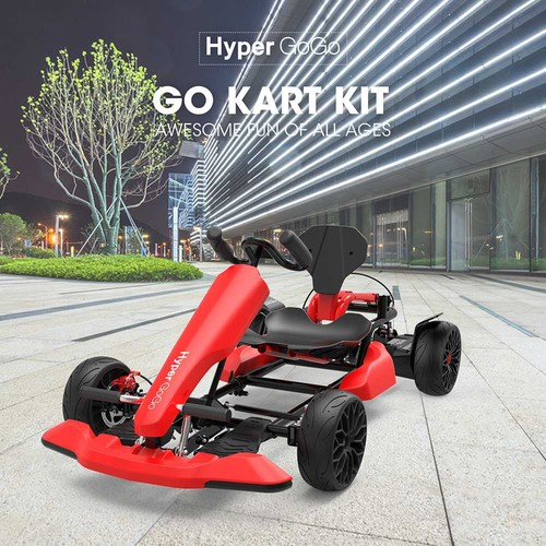 Hyper GoGo GO KART Kit Compatible With All Hoverboard Accessory - Red