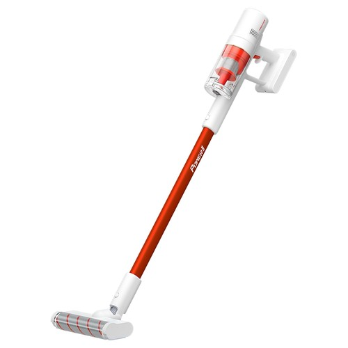 TROUVER POWER 11 Handheld Cordless Vacuum Cleaner 400W Motor 120AW 20000Pa Strong Suction 2500 mAh Battery 60 Minutes Running Time LCD Display Removable Dust Cup - White