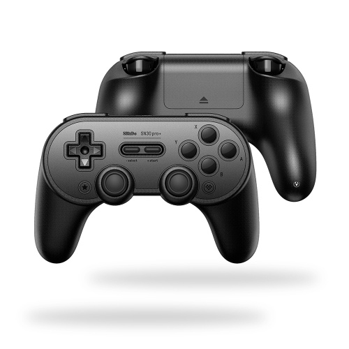 8Bitdo SN30 Pro+ BT Gamepad-Black Edition