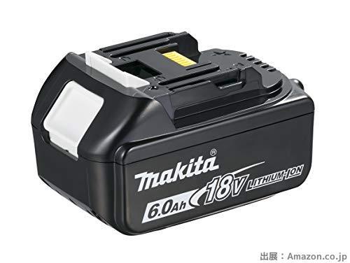 マキタ 18v バッテリー BL1860B 6A