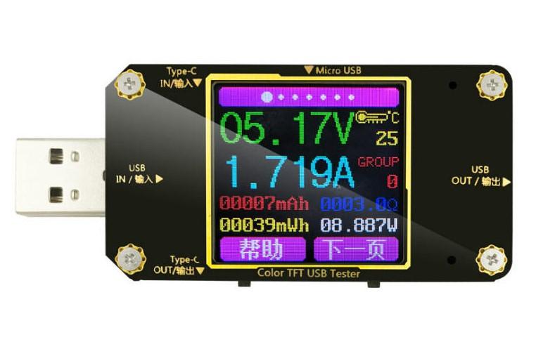 A3-B USB Current Voltage Meter