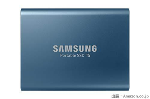 Samsung 外付けSSD T5シリーズ