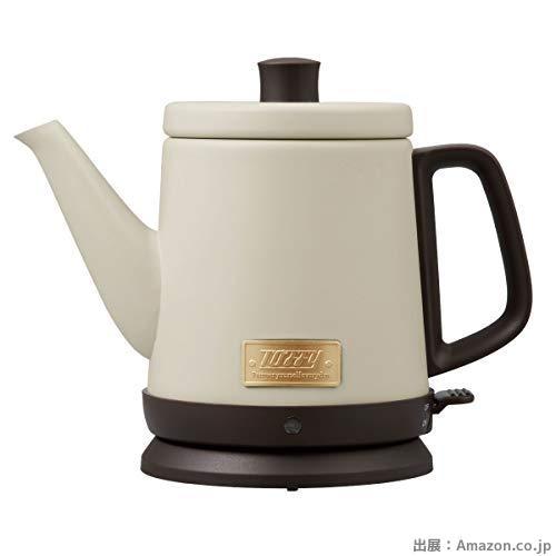 ぼん家具 電気ケトル 800ml 湯沸かし やかん 時短 ドリップ ポット お湯