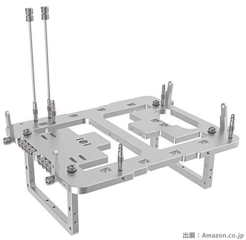 BC1 Mini Silver Open Bench Table