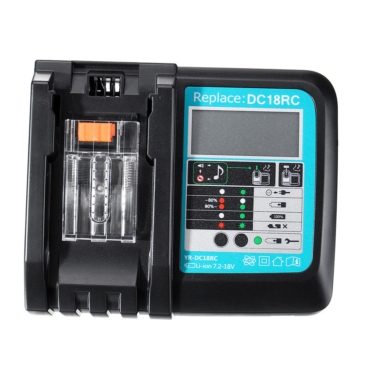 DC18RC  Battery Charger  BL1850